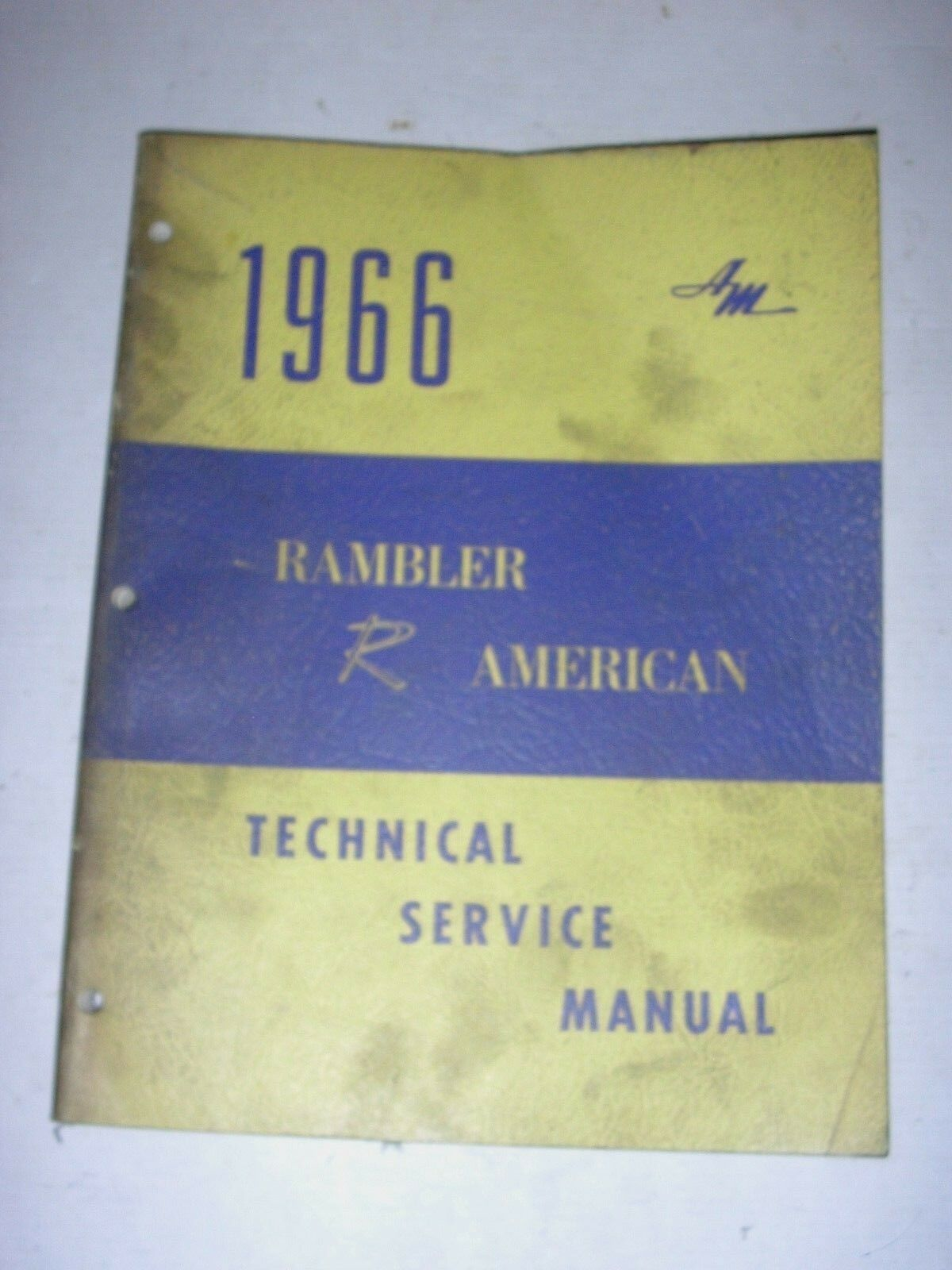1966 Amc Technical Service Manual Rambler Classic Ambassador Marlin Wiring Diagrams Of 1963 6 American 1 1only Available See More