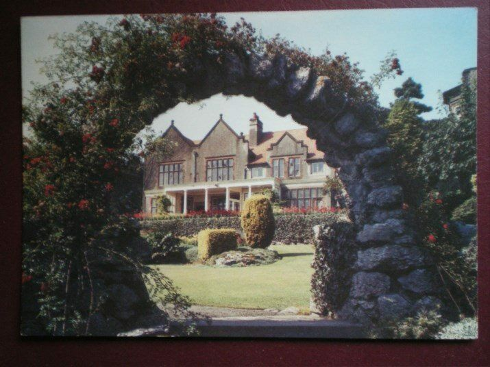 postcard cumbria grange over sands graythwaite manor. Black Bedroom Furniture Sets. Home Design Ideas
