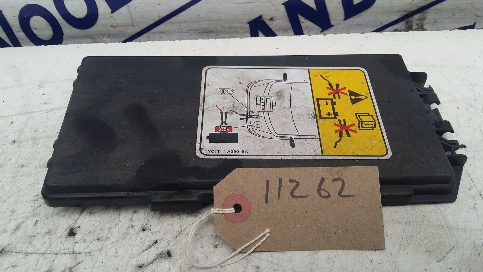 Ford Transit Fuse Box Cover Lid Mk 6 2000 To 2006 1500 Picclick Uk Mk6 1 Of 1only Available