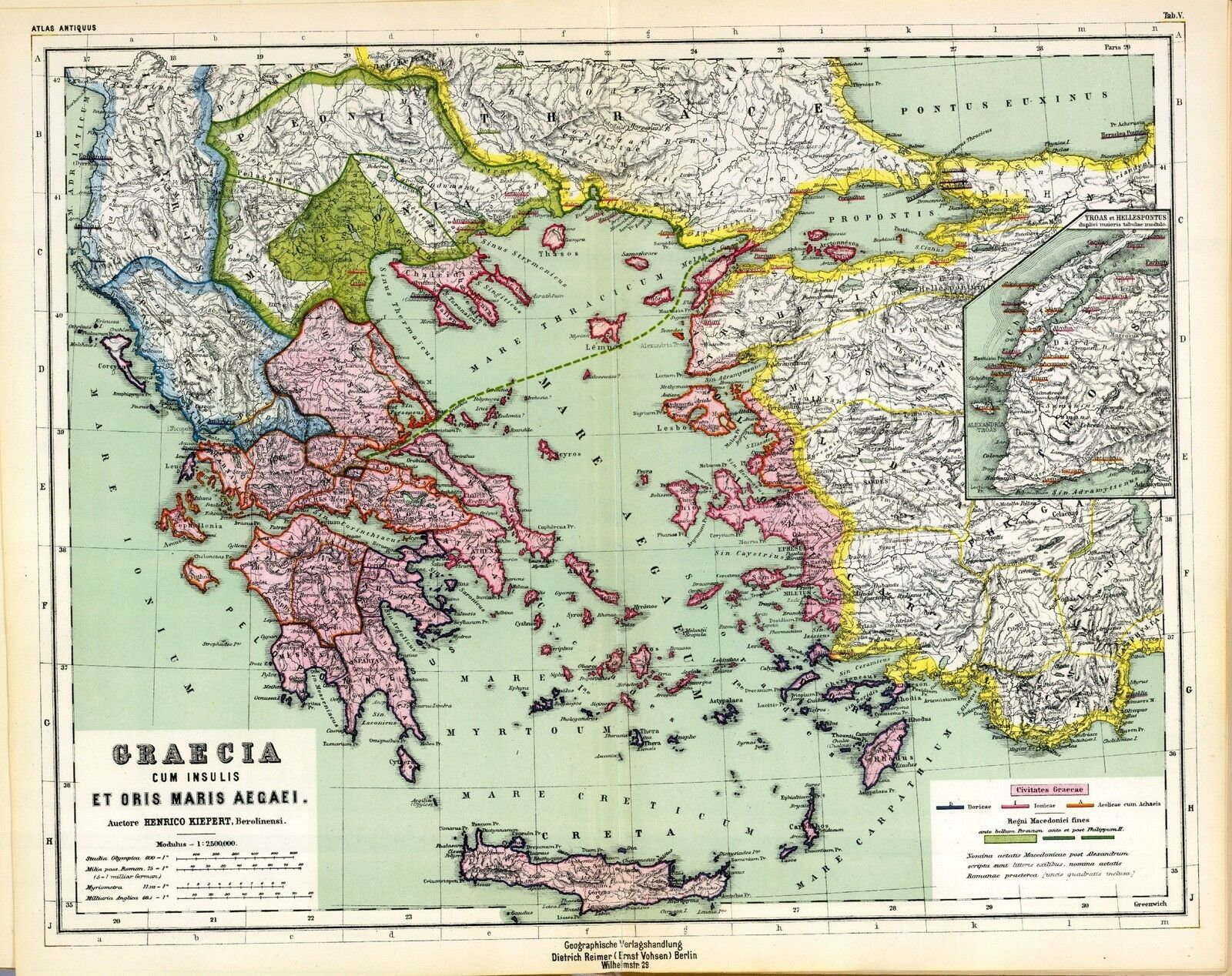 1903 old antique map of ancient world empire greece greek turkey 1903 old antique map of ancient world empire greece greek turkey history atlas 5 1 of 1free shipping see more gumiabroncs Gallery