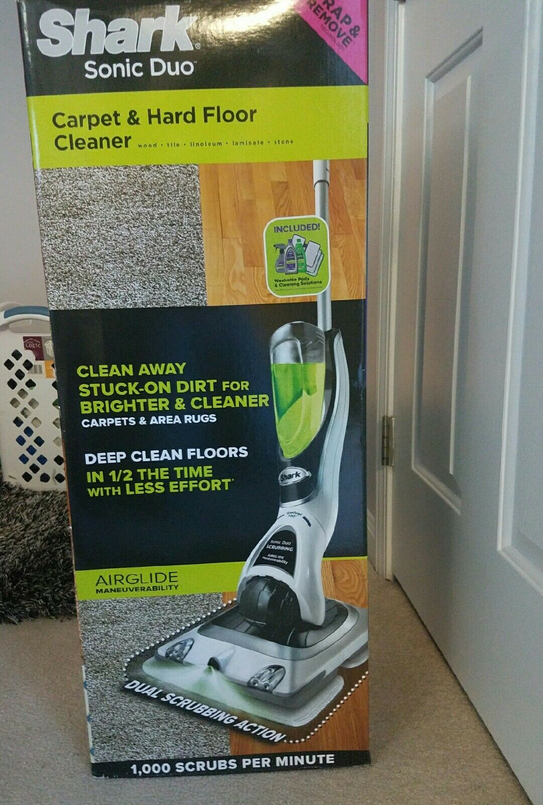 Shark Sonic Duo Carpet And Hard Floor Cleaner 1 Of 3only 2 Available