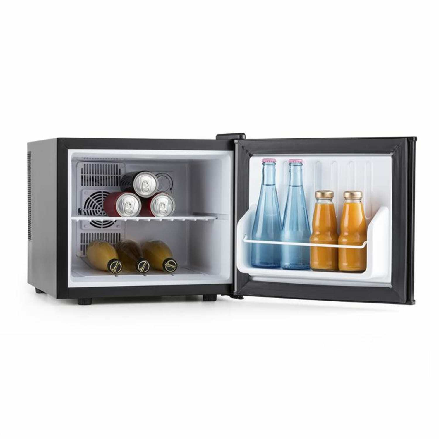 mini frigo bar frigorifero piccolo compatto bevande acciaio inox classe a 17l eur 119 99. Black Bedroom Furniture Sets. Home Design Ideas