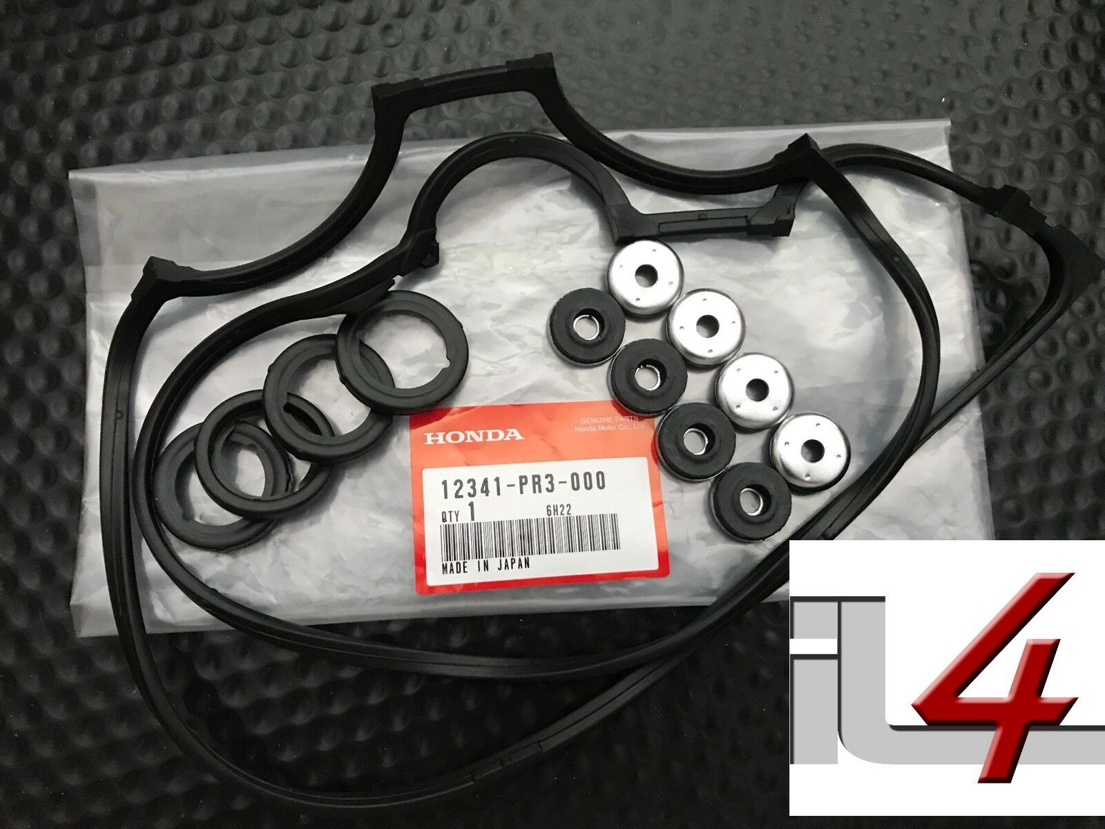 Genuine Oem Honda Valve Cover Gasket Kit Set Acura B Series 2001 Crv Parts Dohc V 1 Of 1only 4 Available