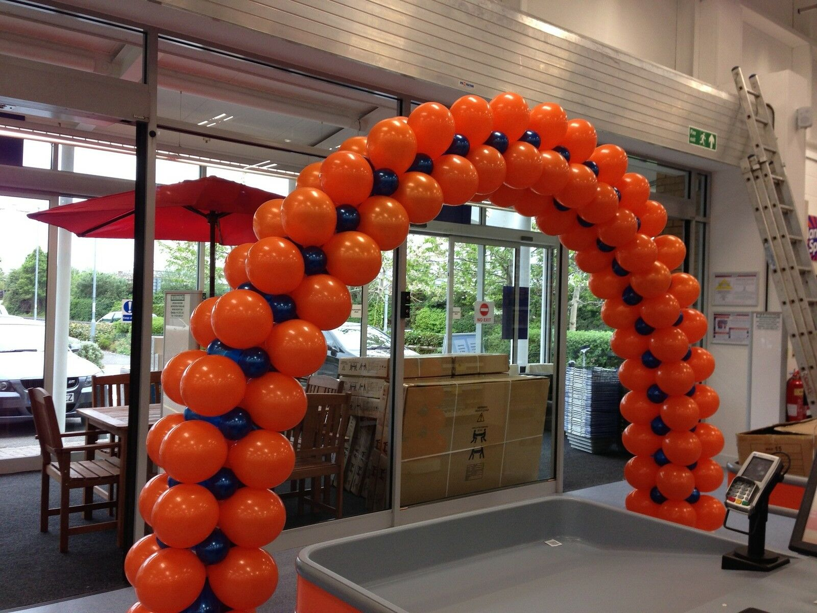 LARGE HEAVY DUTY Balloon Arch Frame Diy Kit Hire Or Buy Option No ...
