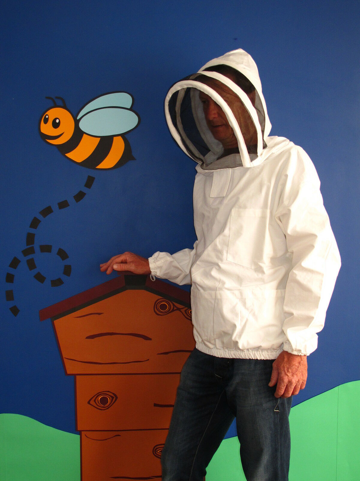 PREMIUM QUALITY Bee Smock, Fencing Veil Style. All Sizes