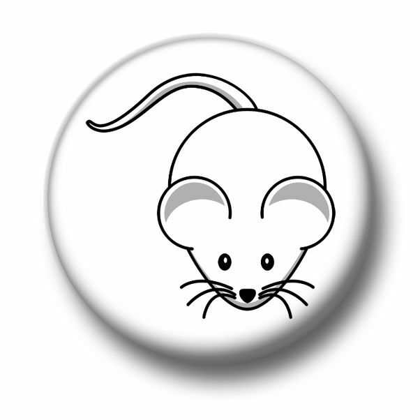 Choice 25mm//55mm//77mm Novelty Fun BadgeBeast Button Badge I Love Rats
