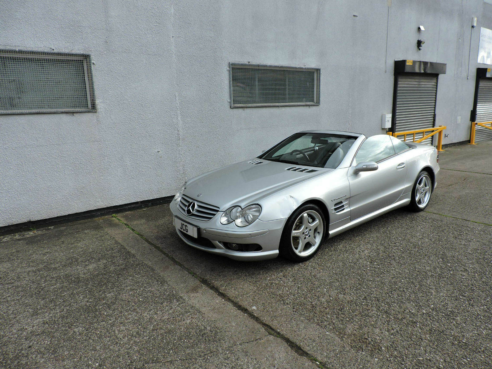 04 mercedes benz sl55 amg 5 5 kompressor auto damaged salvage repairable 10 picclick uk. Black Bedroom Furniture Sets. Home Design Ideas