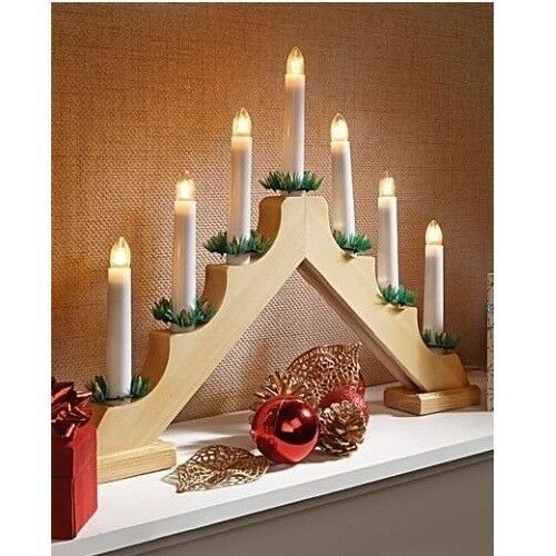 Battery Powered Christmas Candles Window