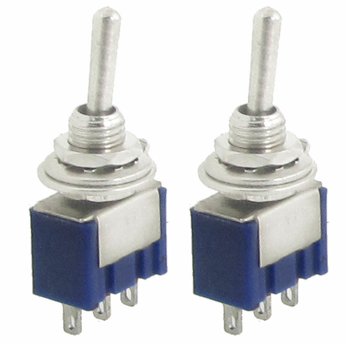 2 Pcs 125v 6a On Way Spdt 3 Terminals Toggle Switch Car Dash For 1 Of 1free Shipping See More