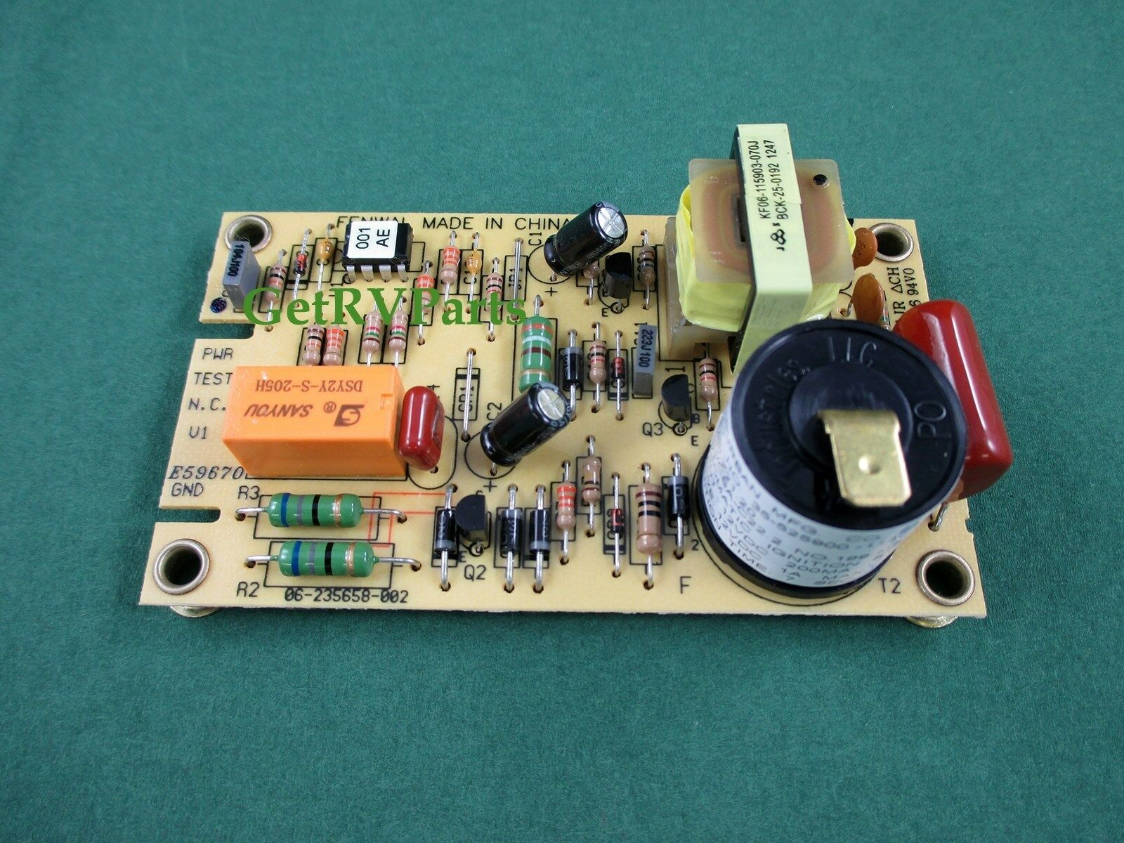 Suburban 520814 Rv Furnace Heater Control Circuit Board Sw6d Sw6de 93865 Atwood Water Sw10d Sw10de 1 Of 1free Shipping