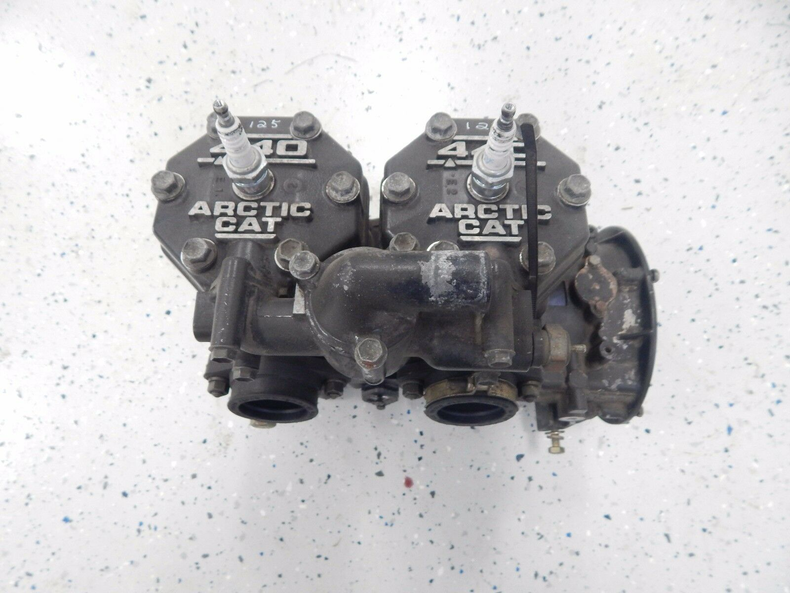 Arctic Cat Snowmobile 1998 Zl 440 Carb Engine Motor 0662 235 Wiring Diagram 1 Of 6only Available