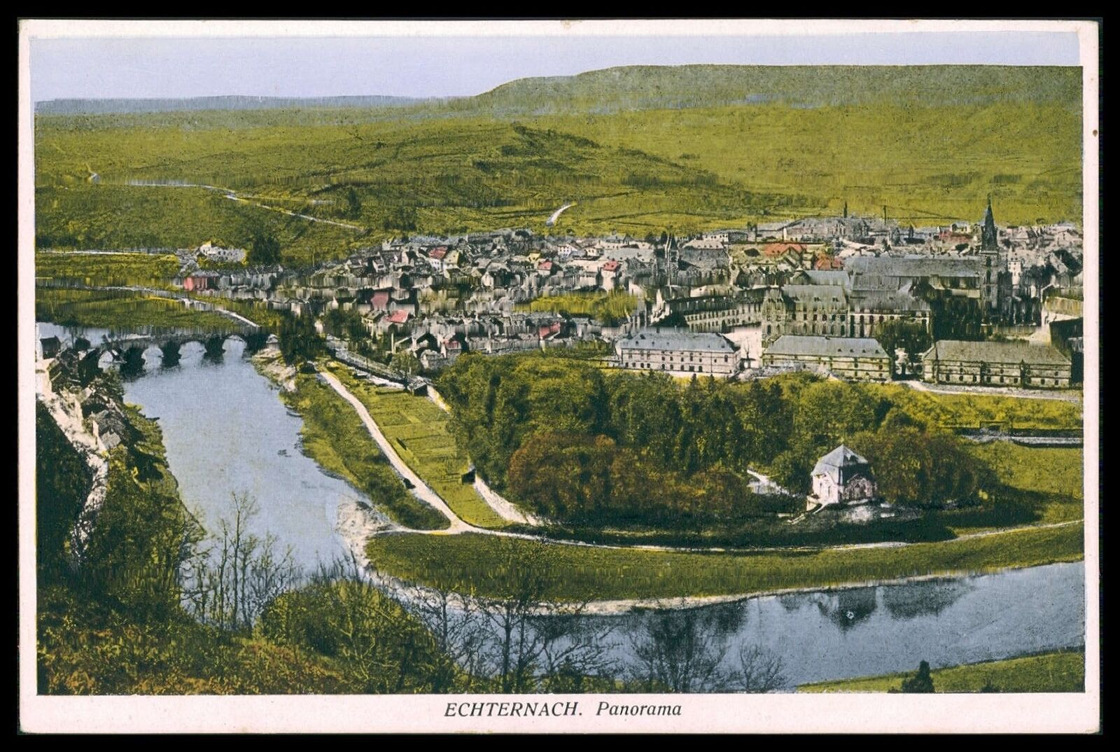 ak luxemburg luxembourg echternach alte ansichtskarte old postcard cq53 eur 7 90 picclick de. Black Bedroom Furniture Sets. Home Design Ideas