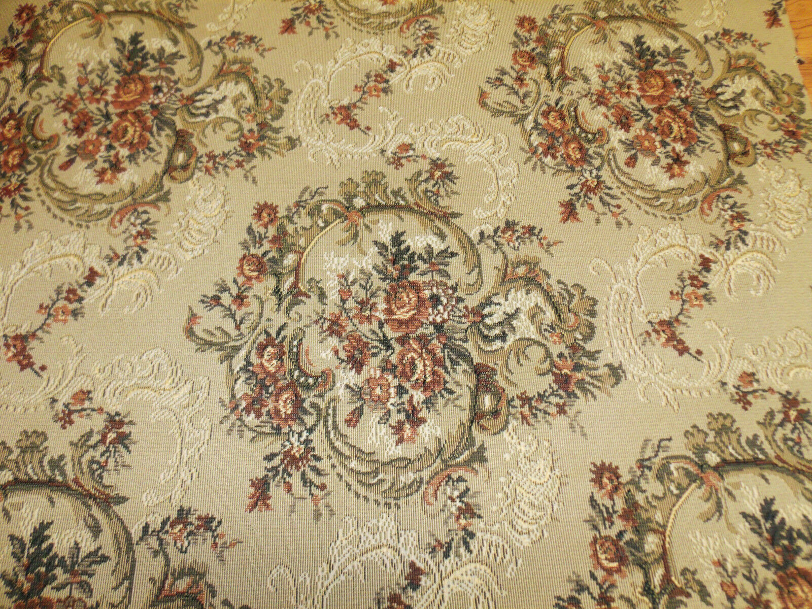Tapestry Upholstery Fabric 54 Wide By The Yard Quality For Sofas Chairs 1 Of 6free Shipping See More
