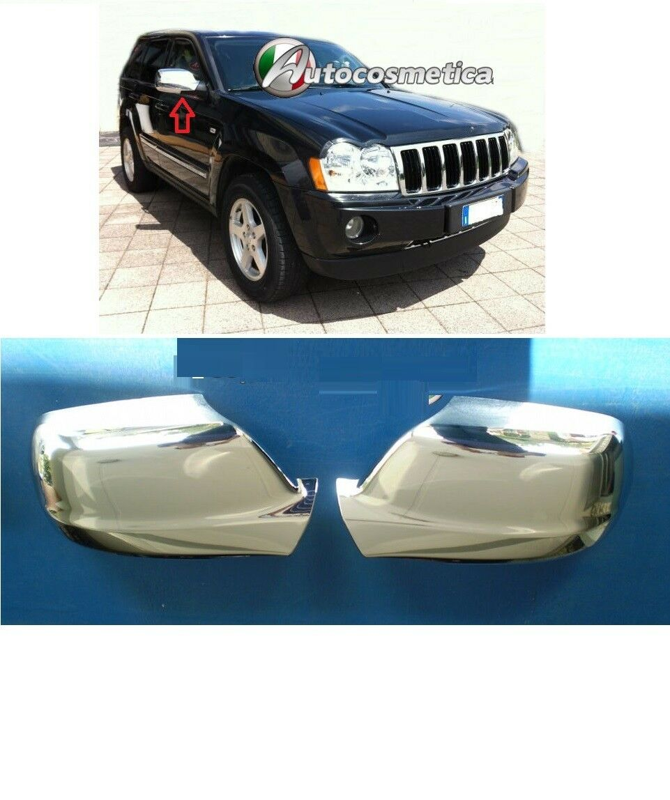 Cover specchi retrovisori in abs cromo jeep grand cherokee - Specchi retrovisori per auto ...
