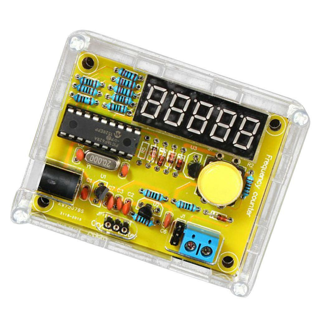 1hz50mhz Crystal Frequency Meter Tester Measurement Led 5 Digits 1hz To 1mhz With Digital Display Diy Kit 1 Of 12only 2 Available