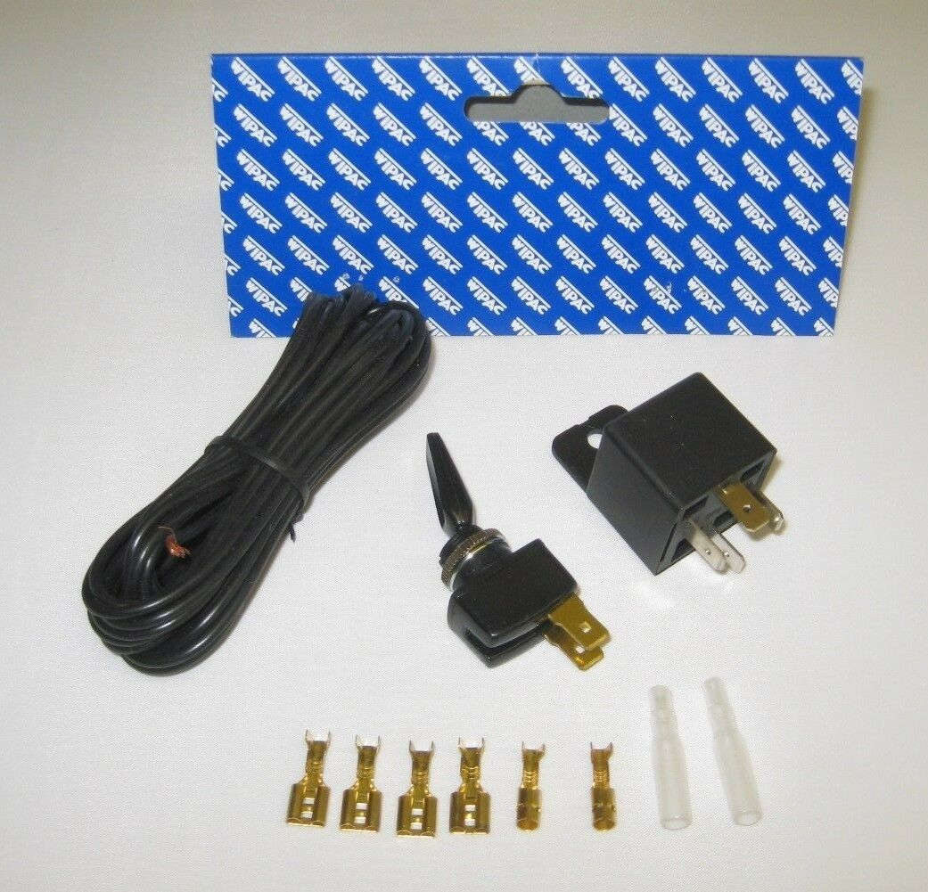 Wipac S6075 Universal 12 Volt Spot Fog Light Lamp Wiring Kit 1 Of 5free Shipping See More