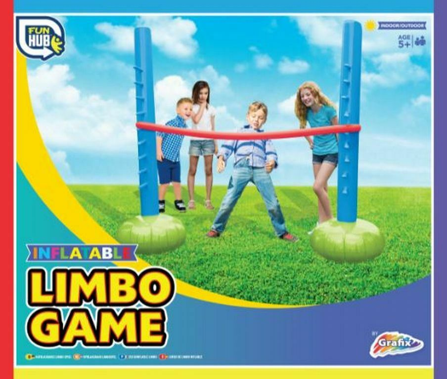 inflatable blow up limbo game hawaiian beach pool party theme summer