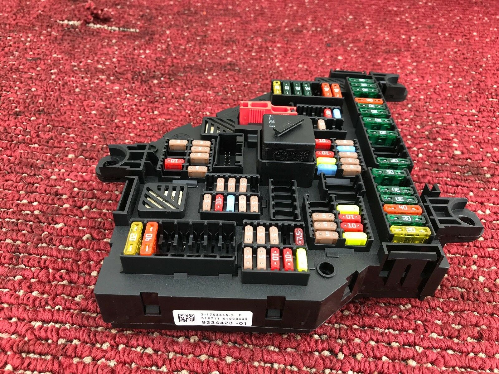 31k Bmw F12 F13 650i 640i M6 Trunk Power Distribution Fusebox Fuse Box 1 Of 5only Available