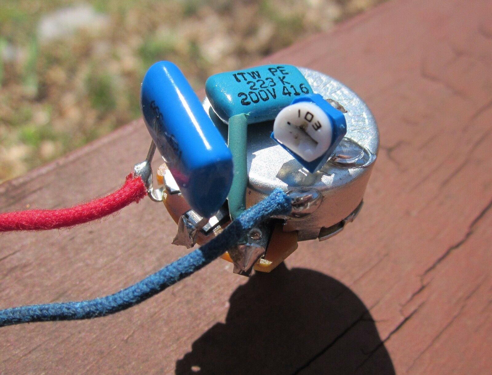 Greasebucket Tone Pot Prewired A250k Cts Adjustable High Pass Wiring Diagram 1 Of 3 See More