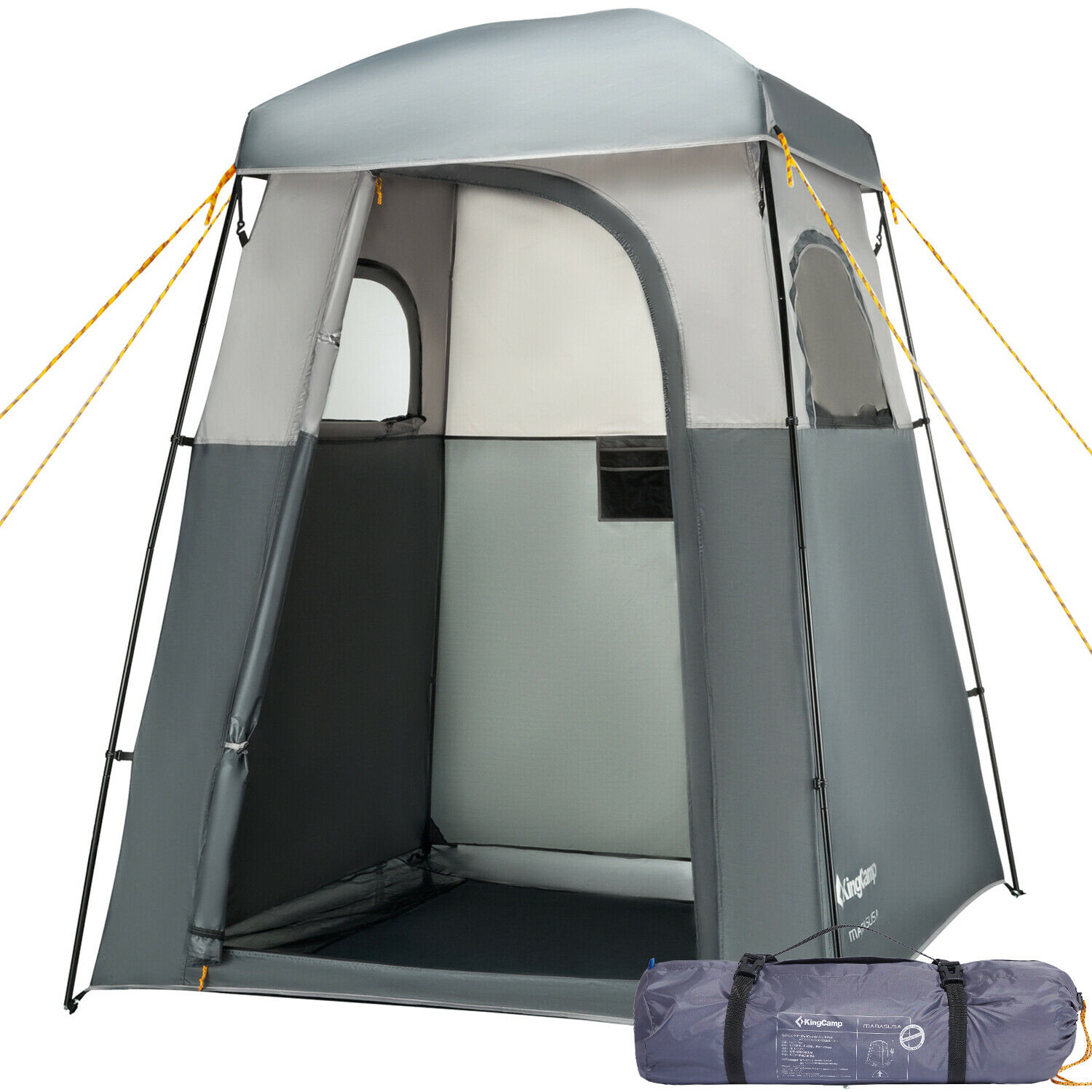 KINGCAMP CAMPING SHOWER Tent Outdoor Changing Privacy Portable ...