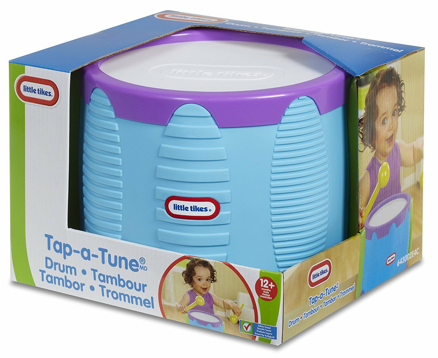LITTLE TIKES Tap A Tune Drum Baby Toy [Ages 12+ Months] **BRAND NEW ...