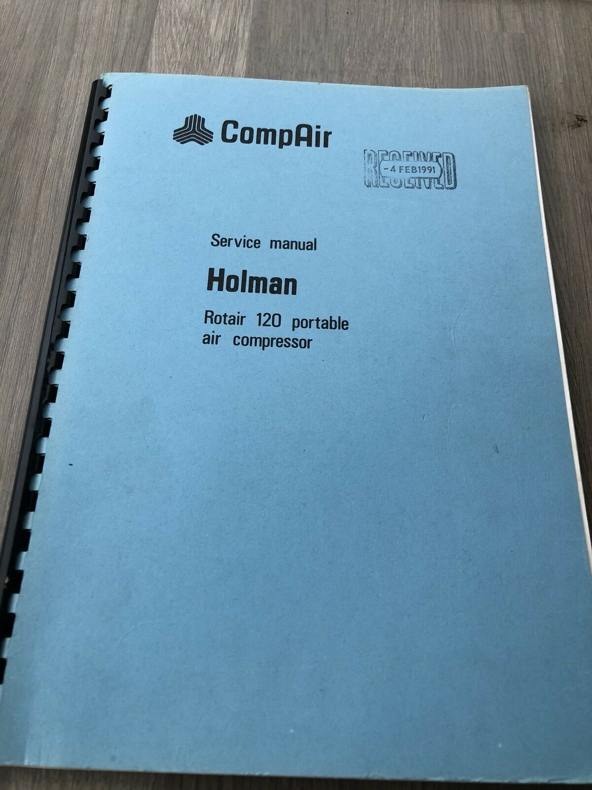 Compair Holman Rotair 120 Portable Air Compressor 1200Cfm Service Manual  Incv 1 of 7Only 1 available ...