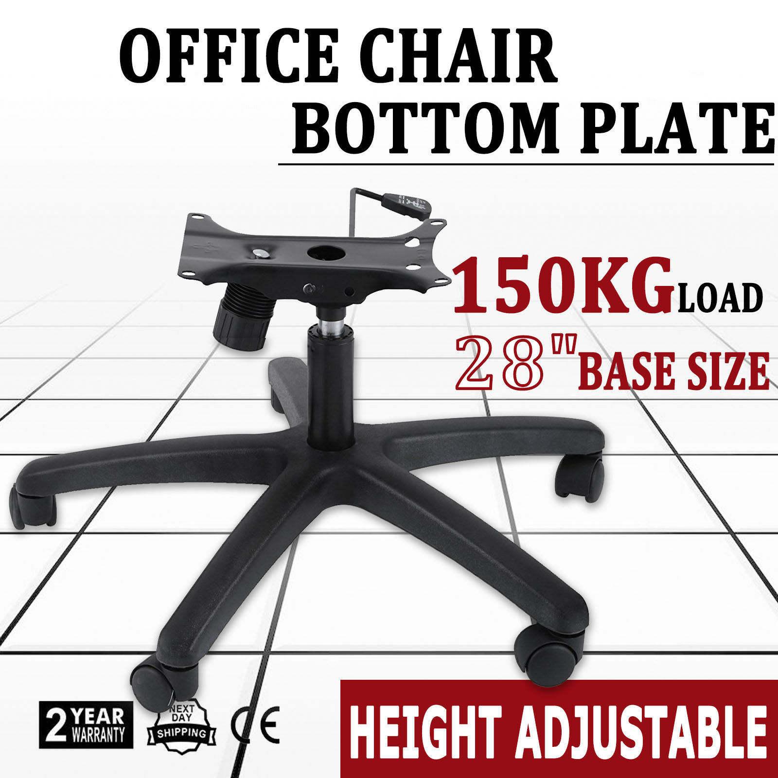 Office Chair Base 28 Inch Swivel Chair Base Heavy Duty 350 Pounds Replacement 1 of 12Only 0 available See More  sc 1 st  PicClick & OFFICE CHAIR Base 28 Inch Swivel Chair Base Heavy Duty 350 Pounds ...