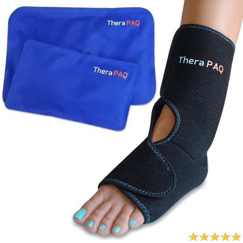 fcea3cd75e Foot & Ankle Pain Relief Ice Wrap with 2 Hot / Cold Gel Packs by TheraPAQ 1  of 5Only 5 available ...