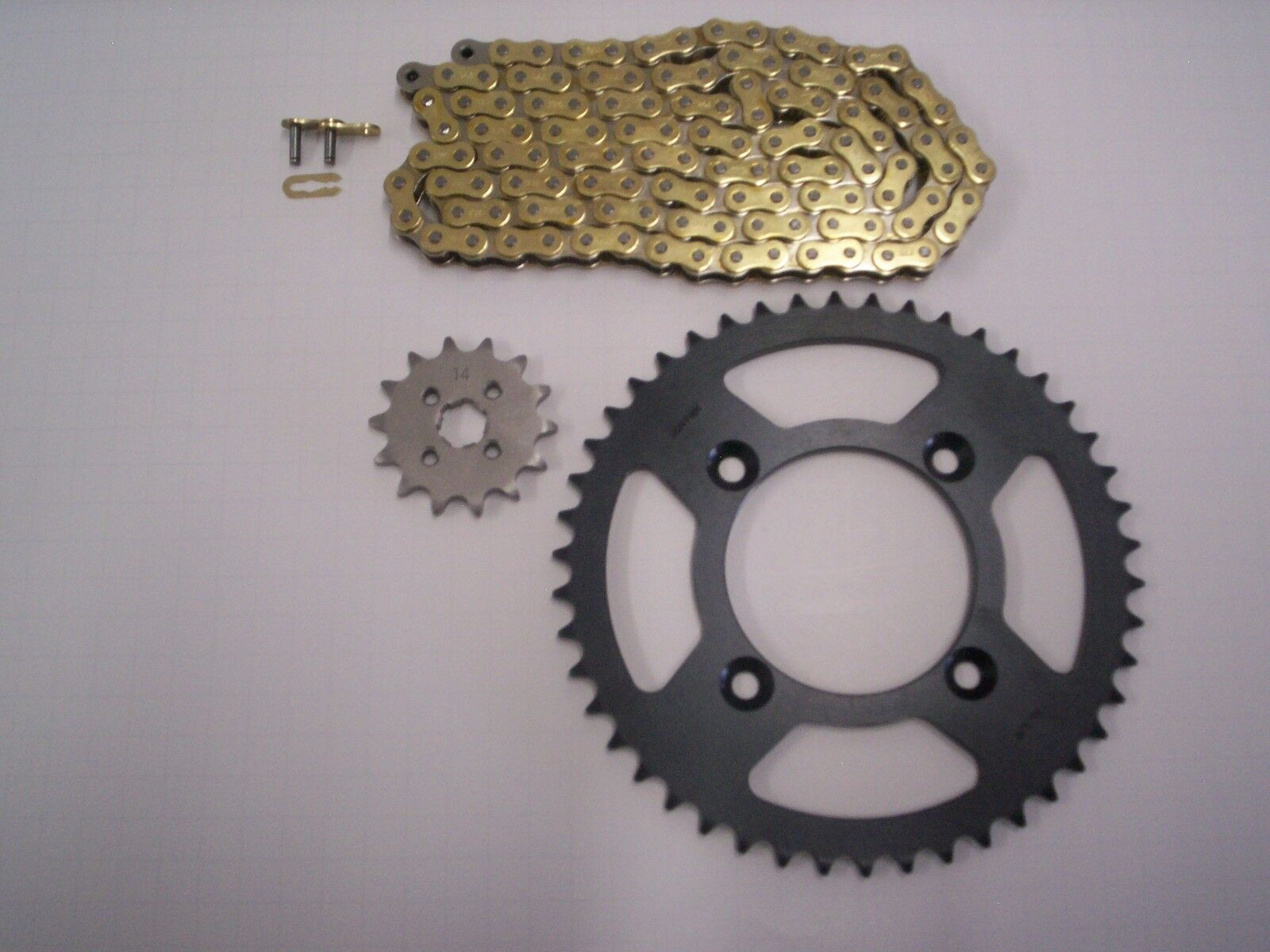 Chains & Sprockets Vehicle Parts & Accessories DID D Chain And Sprocket Kit Honda XR70R 99