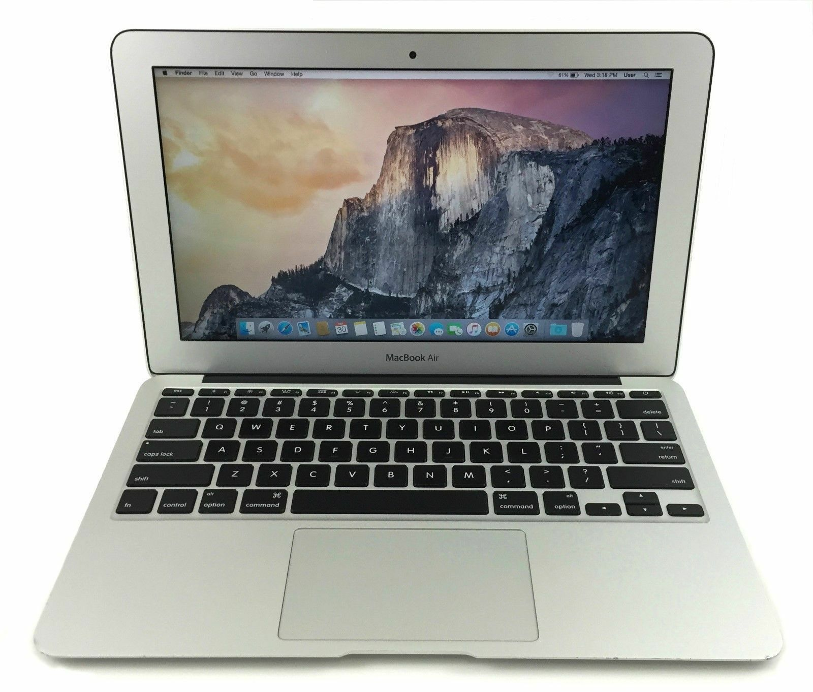 Apple Macbook Air 11 Intel I5 4260u 14ghz 4gb Ram 128gb Ssd Os X New 2017 Mqd42 Silver 1 Of 4only 0 Available