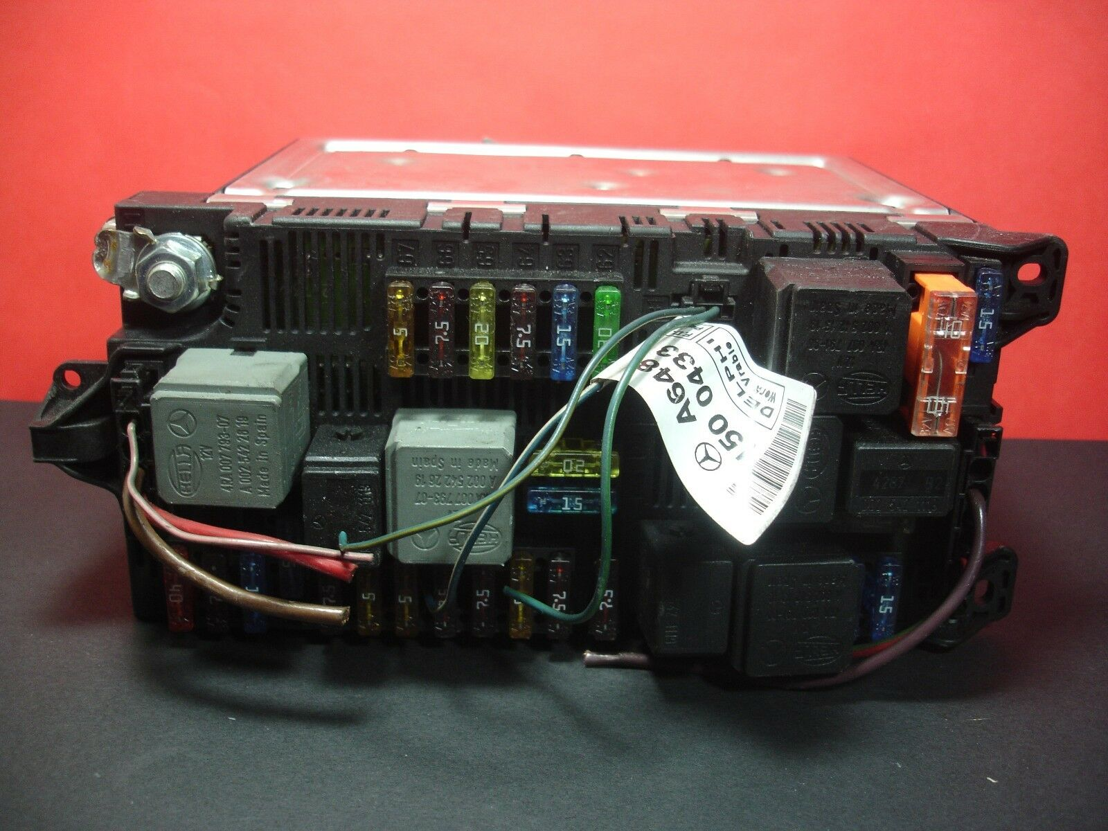 Mercedes E Class Fuse Box A2115454101 W211 Under Bonnet Sam Box 2115454101  1 of 6Only 1 available ...