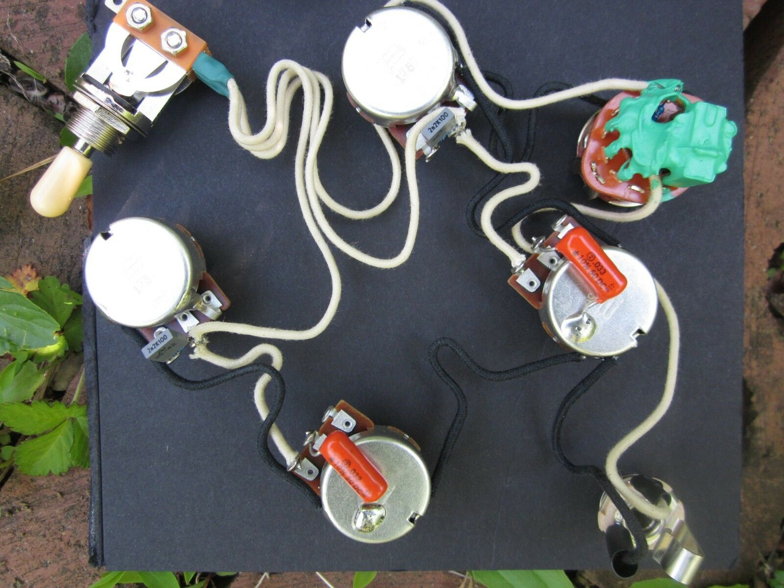 Epiphone 335sg Wiring Harness W Varitone Custom Wired Kellingsound Sg 1 Of 4only Available
