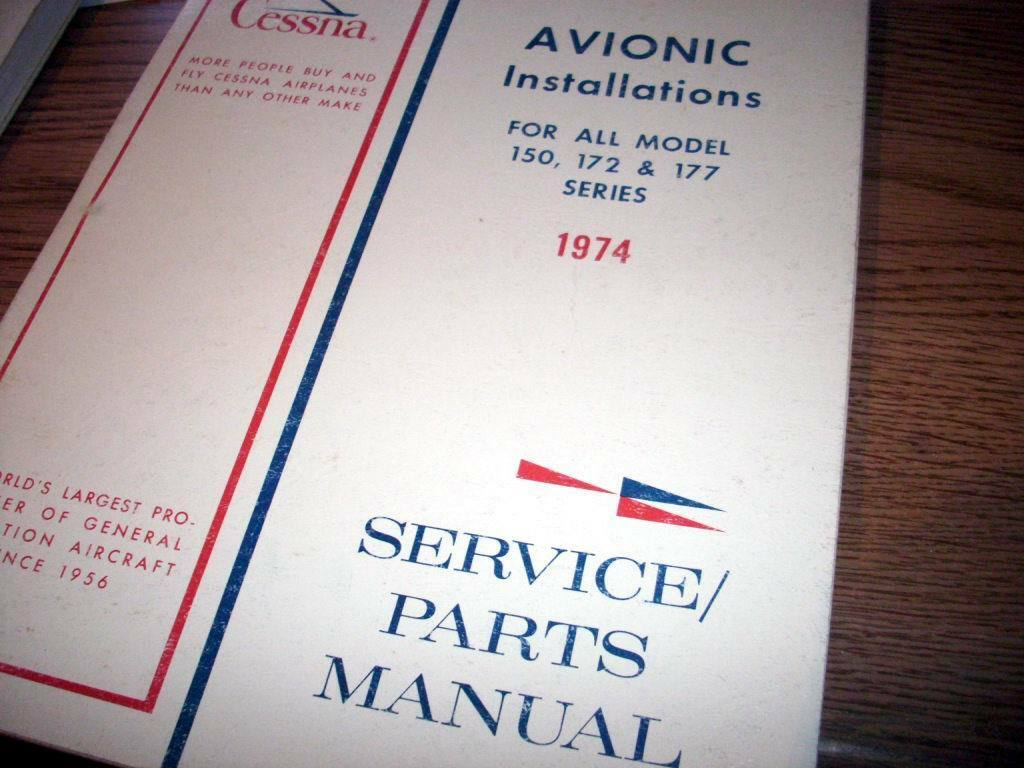 Factory Wiring Book 1974 Cessna 150 172 177 Service Parts Manual Diagram 1 Of 6only Available