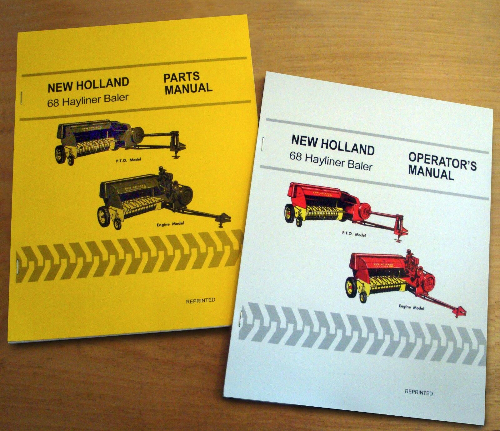 New Holland 68 Hayliner Baler Operator's AND Parts Manual Catalog Book NH 1  of 9Only 5 available ...