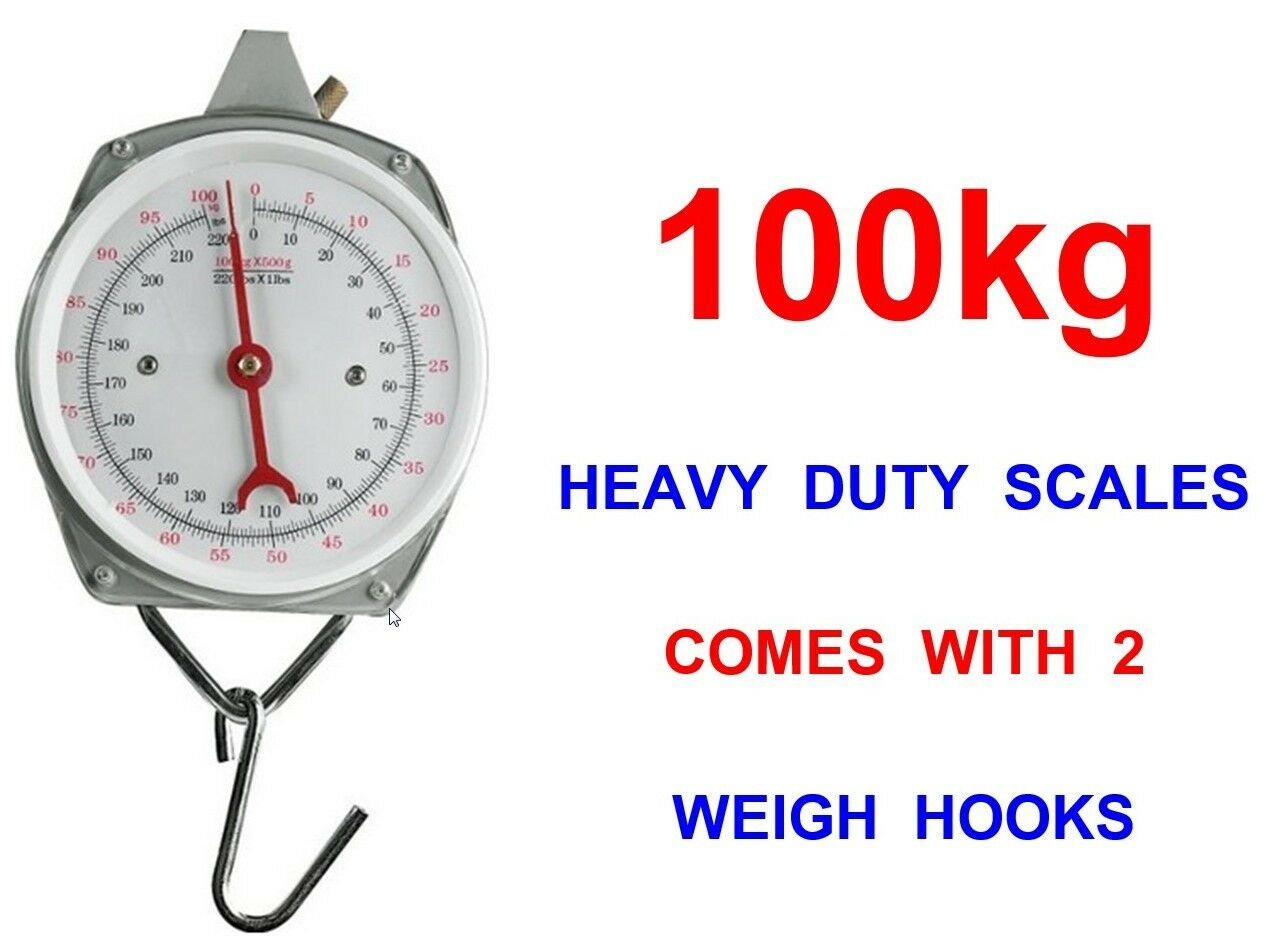 100kg heavy duty weighing scales for coarse pike carp for Fish weighing scales