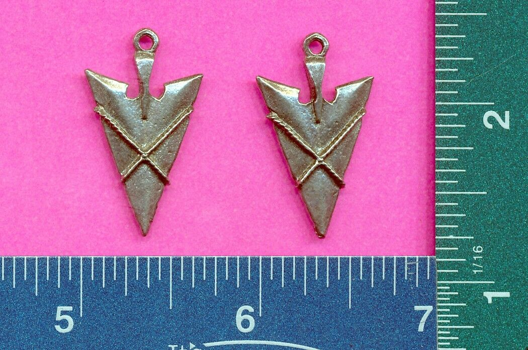 6 wholesale lead free pewter arrowhead pendants 3007 1053 picclick 6 wholesale lead free pewter arrowhead pendants 3007 aloadofball Choice Image