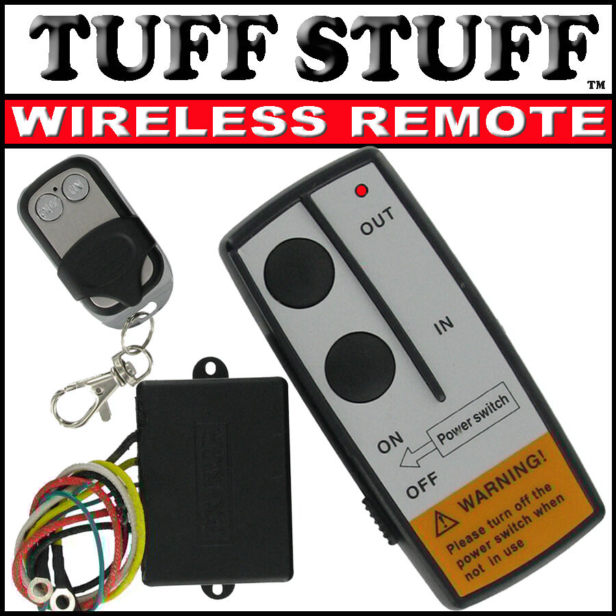 WIRELESS REMOTE CONTROL KIT FOR TRUCK JEEP or ATV WINCH
