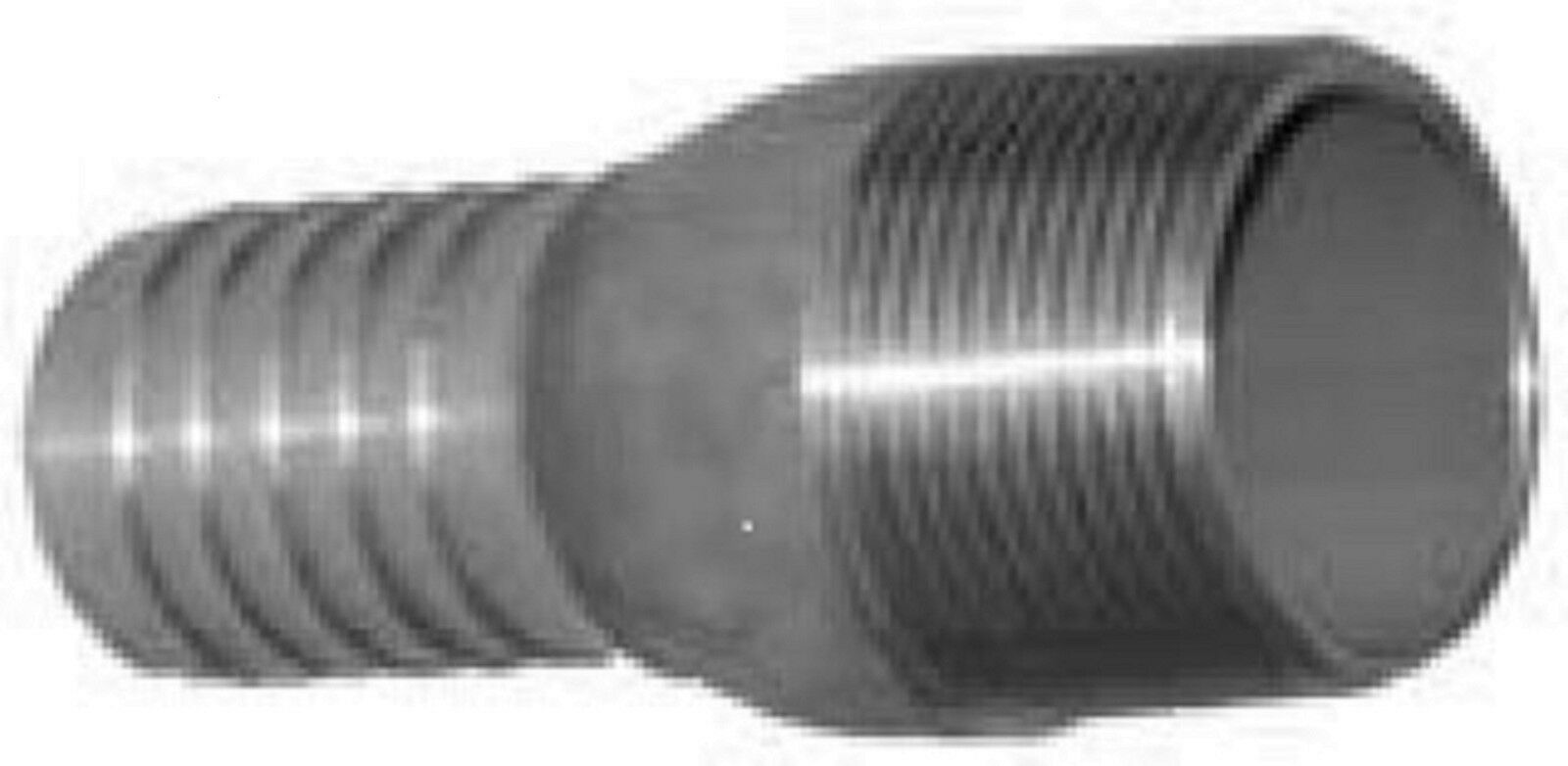 Hose barb fitting quot npt stainless steel