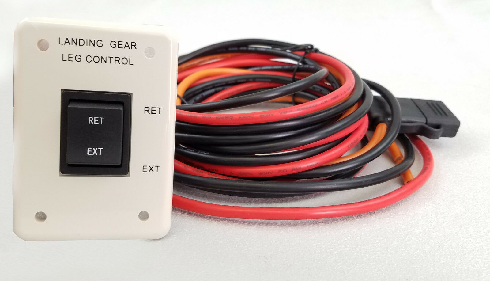new rv wiring harness w switch 5th wheel landing gear motor system rh picclick com 5th wheel wiring harness diagram gm 5th wheel wiring harness