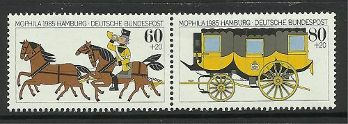 WEST GERMANY. 1985. Morphila Stamp Exhibition Set. MNH