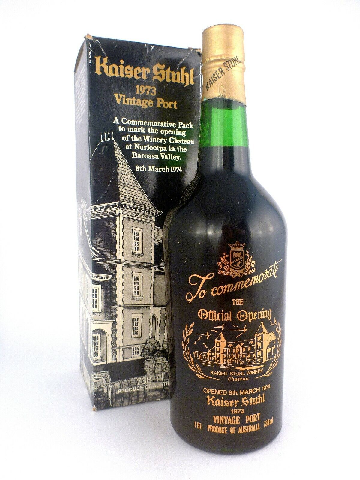 1973 KAISER STUHL Vintage Port FREE DELIVERY Isle of Wine