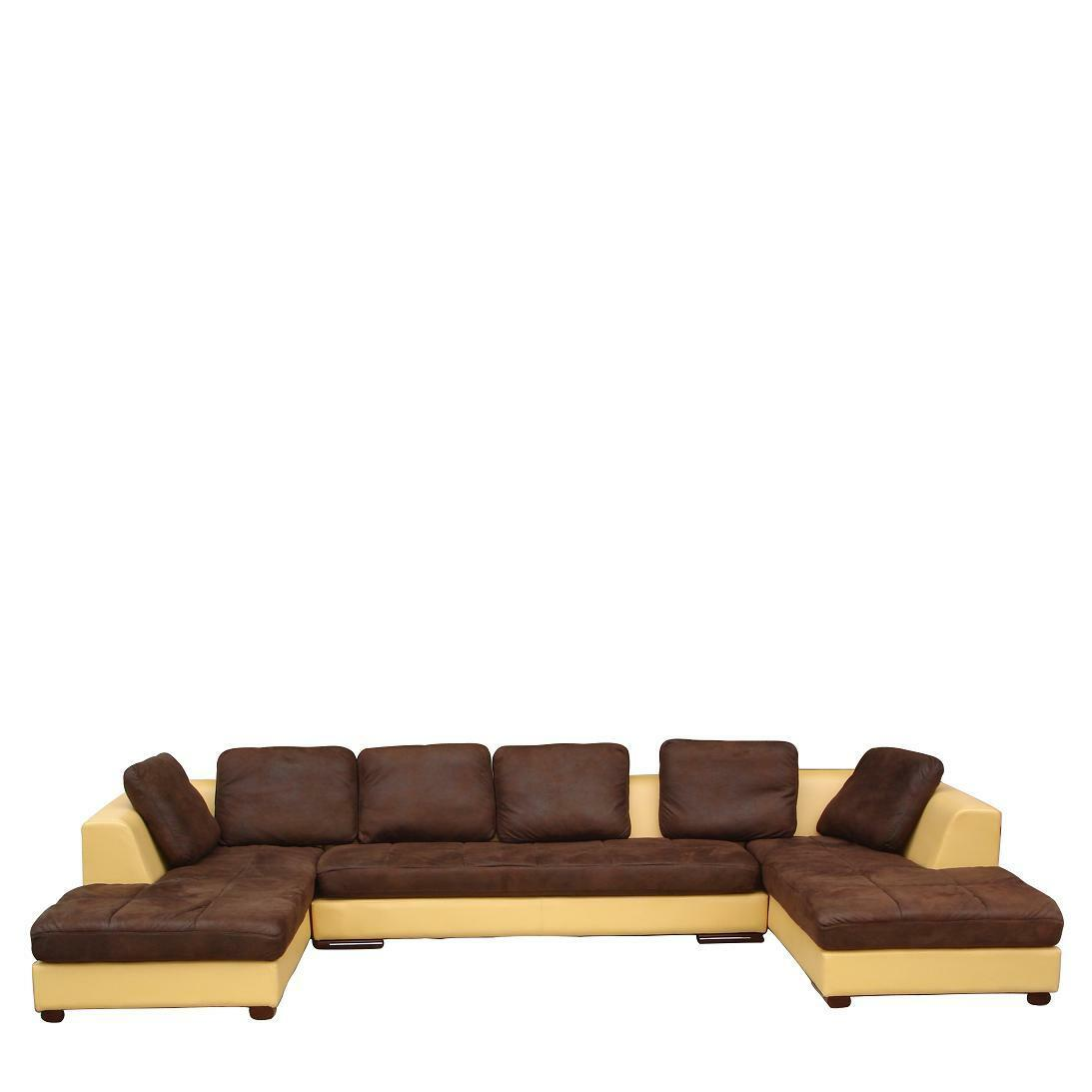 Design microfaser ecksofa eckcouch sofa garnitur 5059 2hu for Sofa garnitur