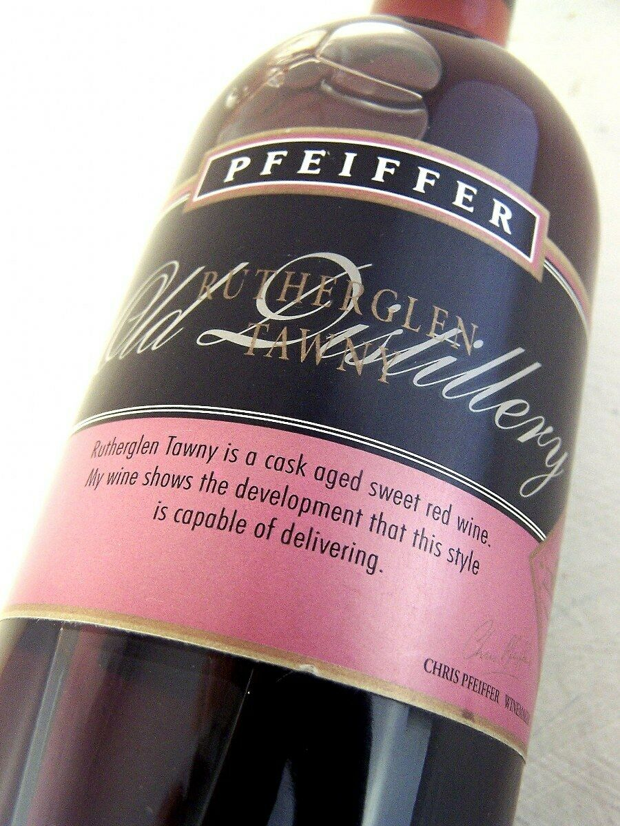 1991 circa NV PFEIFFER Classic Old Distillery Tawny 500ml Isle of Wine