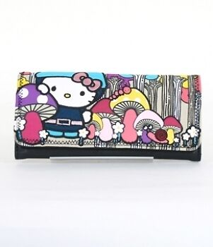 Wallet HELLO KITTY NEW Sanrio Cat Gnome Lady Purse Cosplay Licensed sanwa0287