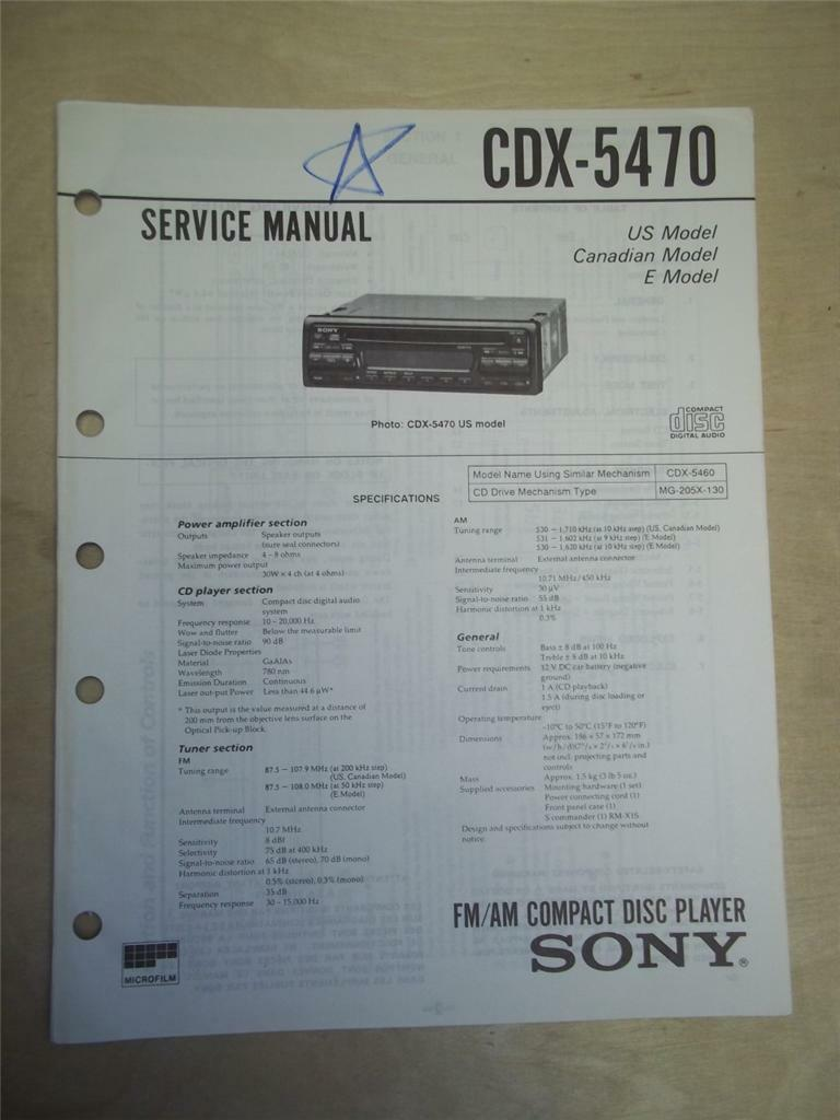 Old Fashioned Sony Cdx Gt575up Wiring Diagram Inspiration - Wiring ...