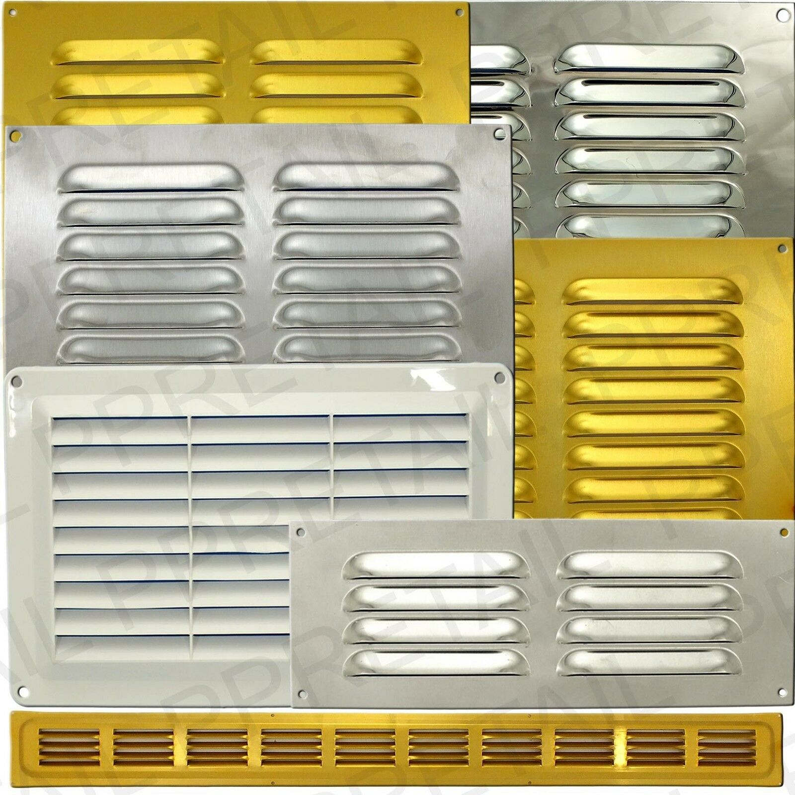 #B49517 ★SMALL LARGE LOUVRE AIR VENTS★HUGE RANGE★Ventilator Duct  Highly Rated 4589 Hvac Wall Vents wallpapers with 1600x1600 px on helpvideos.info - Air Conditioners, Air Coolers and more