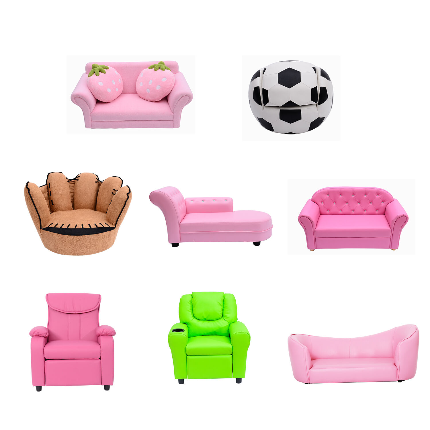 kindersofa sofa couch kinder stuhl kinderzimmer softsofa. Black Bedroom Furniture Sets. Home Design Ideas