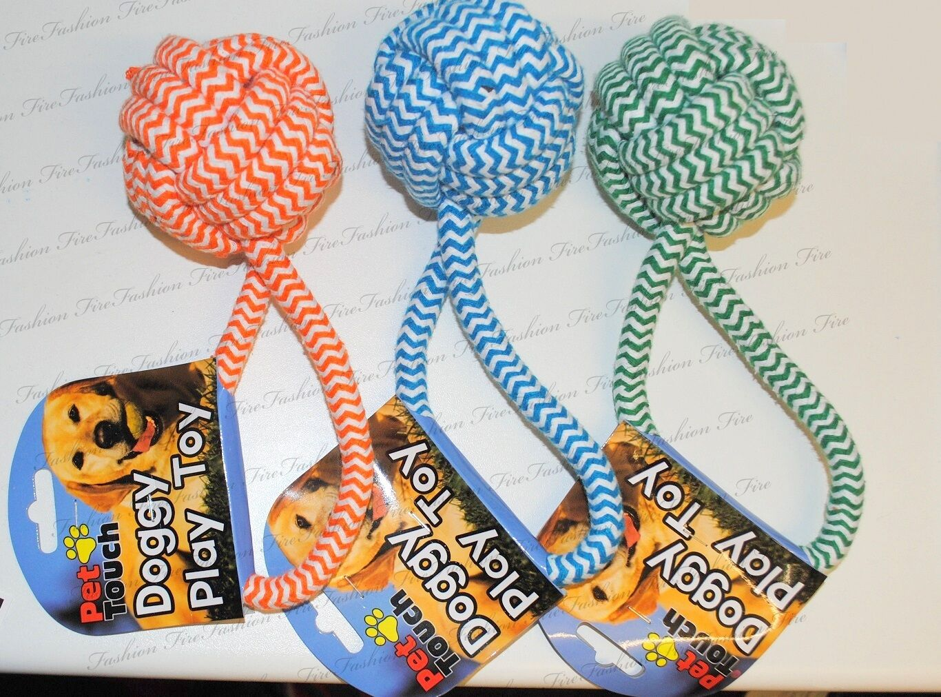 Dog Cat Soft Rope Play Toy Training Obedience Tool Child Friendly