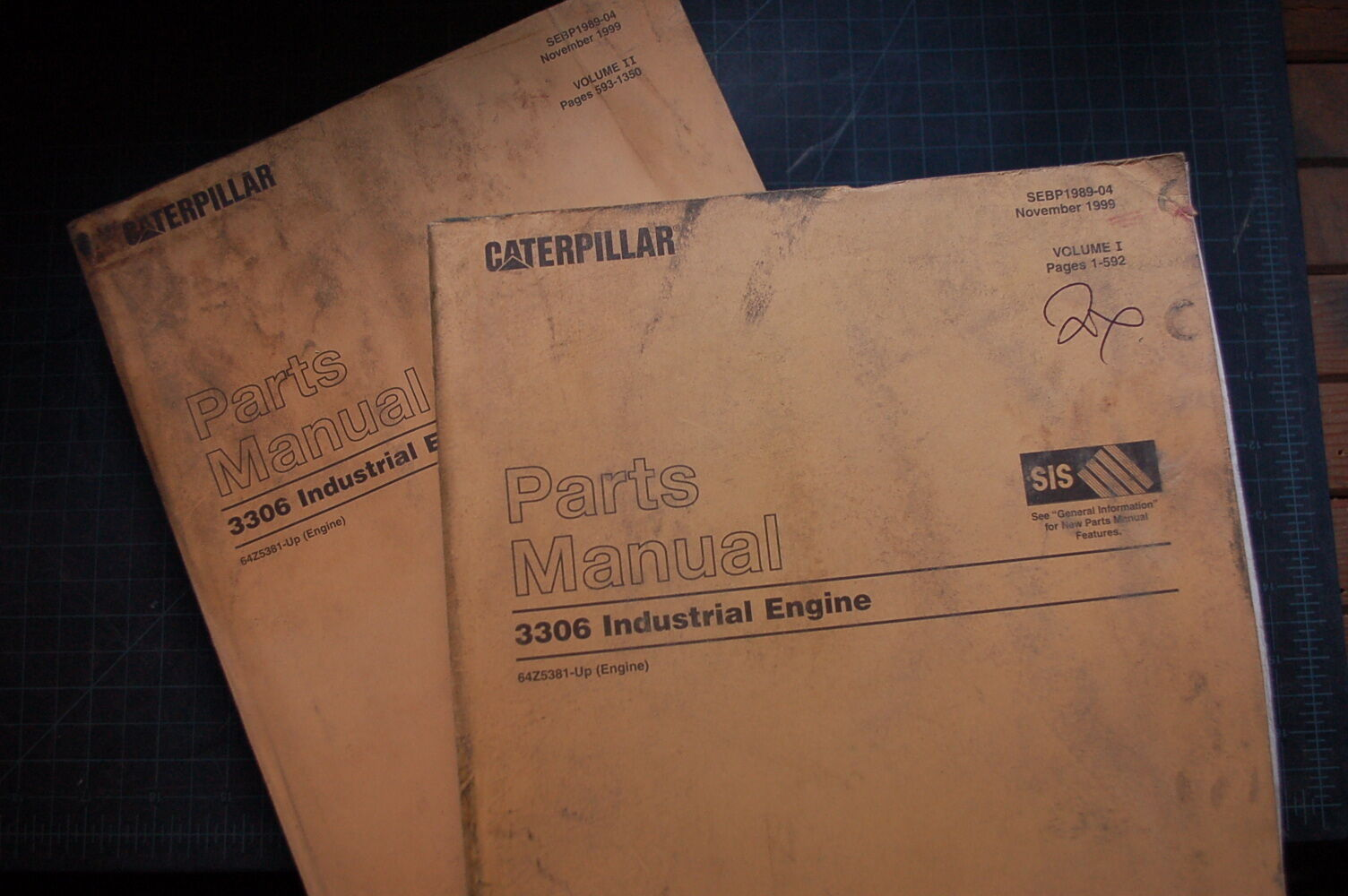 CAT Caterpillar 3306 Industrial Engine Parts Manual Catalog Book generator  spare 1 of 3Only 2 available ...