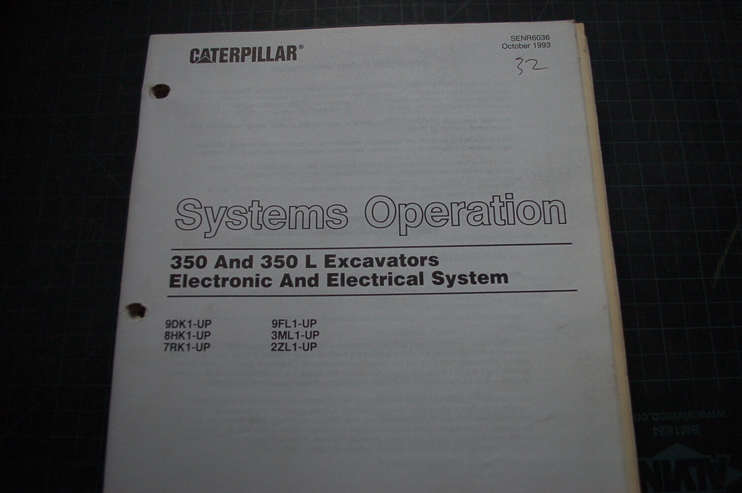 caterpillar 350 l excavator electrical system operation service rh picclick  com